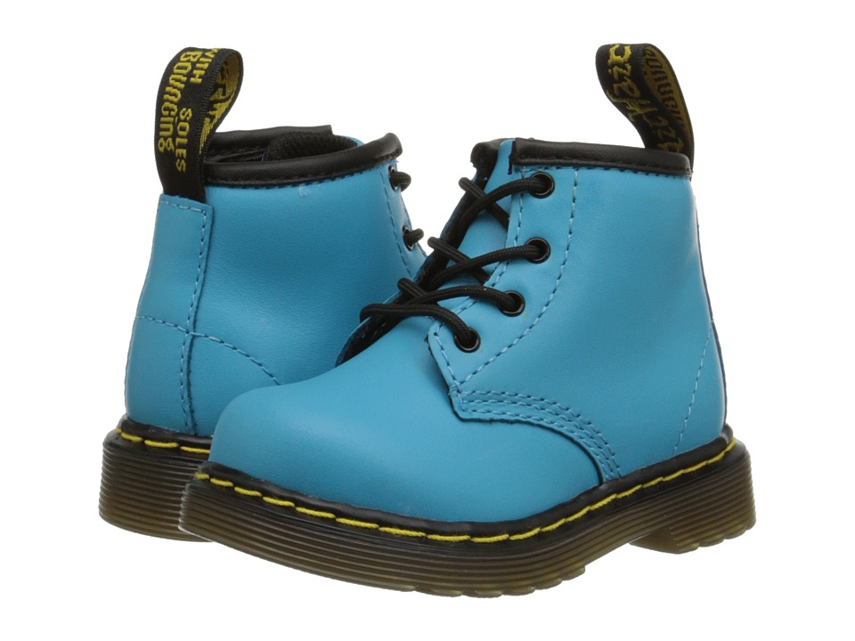 Dr. Martens Kid's Collection - Brooklee B (Toddler) (Wild Aqua Softy T) Kids Shoes