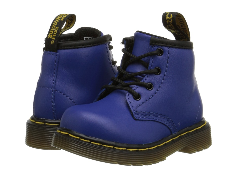 Dr. Martens Kid's Collection - Brooklee B (Toddler) (Wild Blue Softy T) Kids Shoes