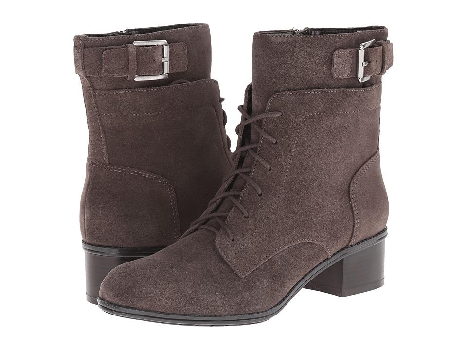 Bandolino - Cloviis (Dark Taupe Suede) Women's Shoes