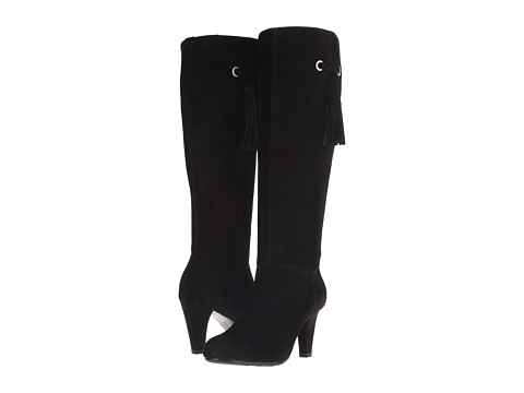 Bandolino - Bacia (Black/Black Suede) Women's Shoes