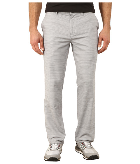 adidas Golf - Fall Weight Heather Pants (Mid Grey) Men