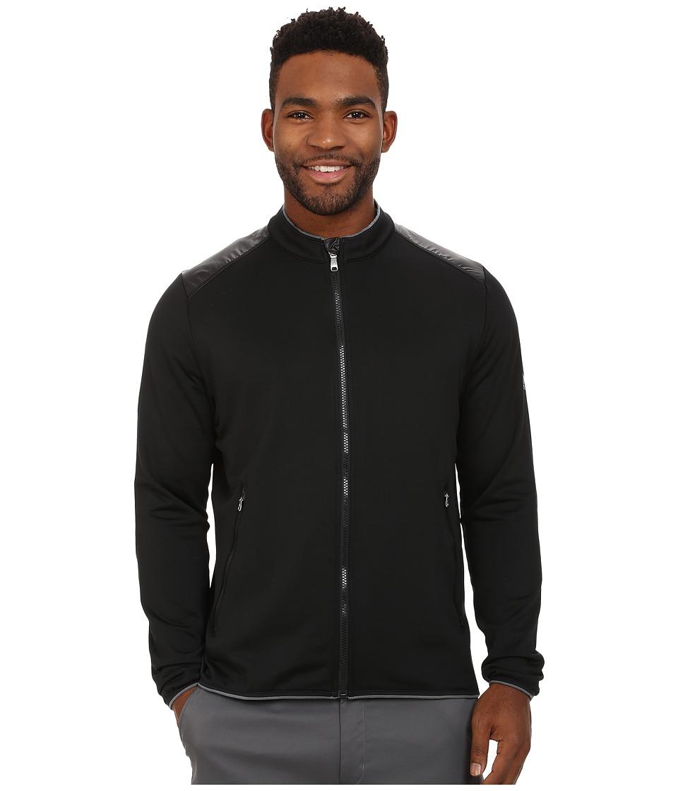 adidas Golf - CLIMAHEAT Full Zip Jacket (Black/Vista Grey) Men's Coat