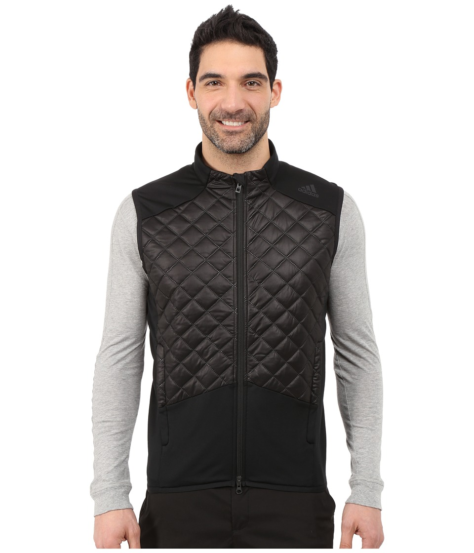 adidas Golf - CLIMAHEAT Prime Fill Vest (Black/Black) Men's Vest