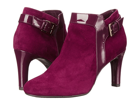 Bandolino - Loman (Wine Multi Suede) Women's Shoes