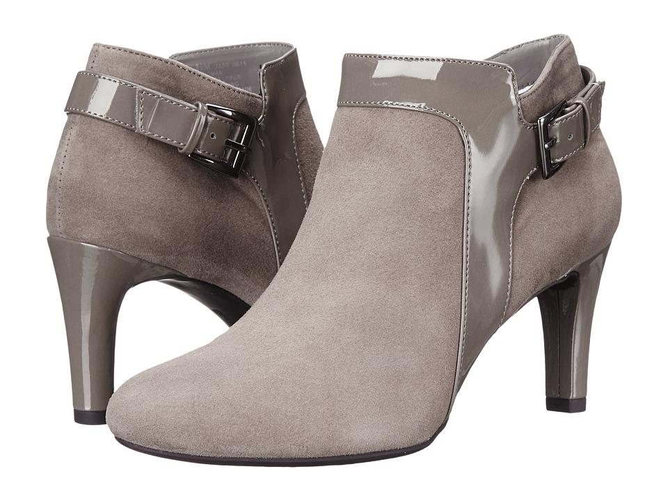 Bandolino - Loman (Medium Grey Multi Suede) Women's Shoes