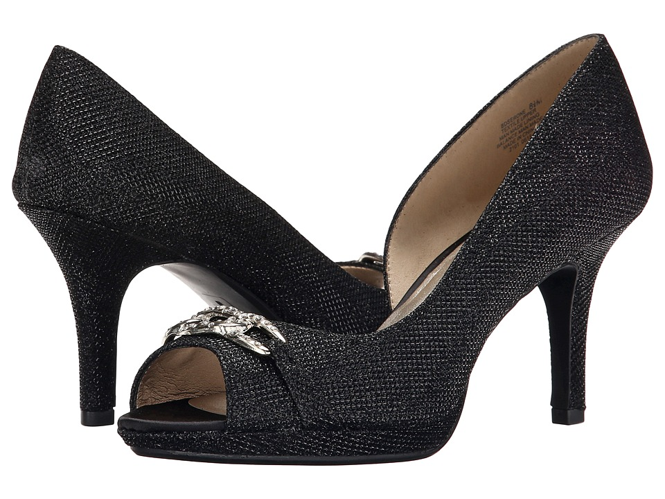 Bandolino Serone (Black Fabric) High Heels
