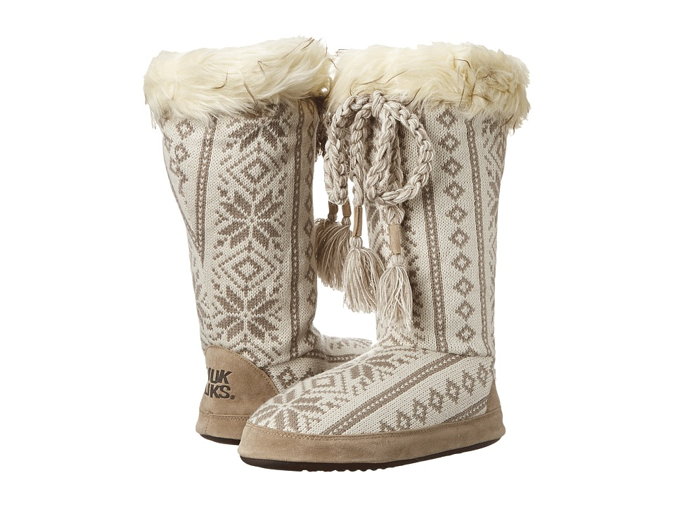 MUK LUKS - Grace (Winter White) Women's Pull-on Boots