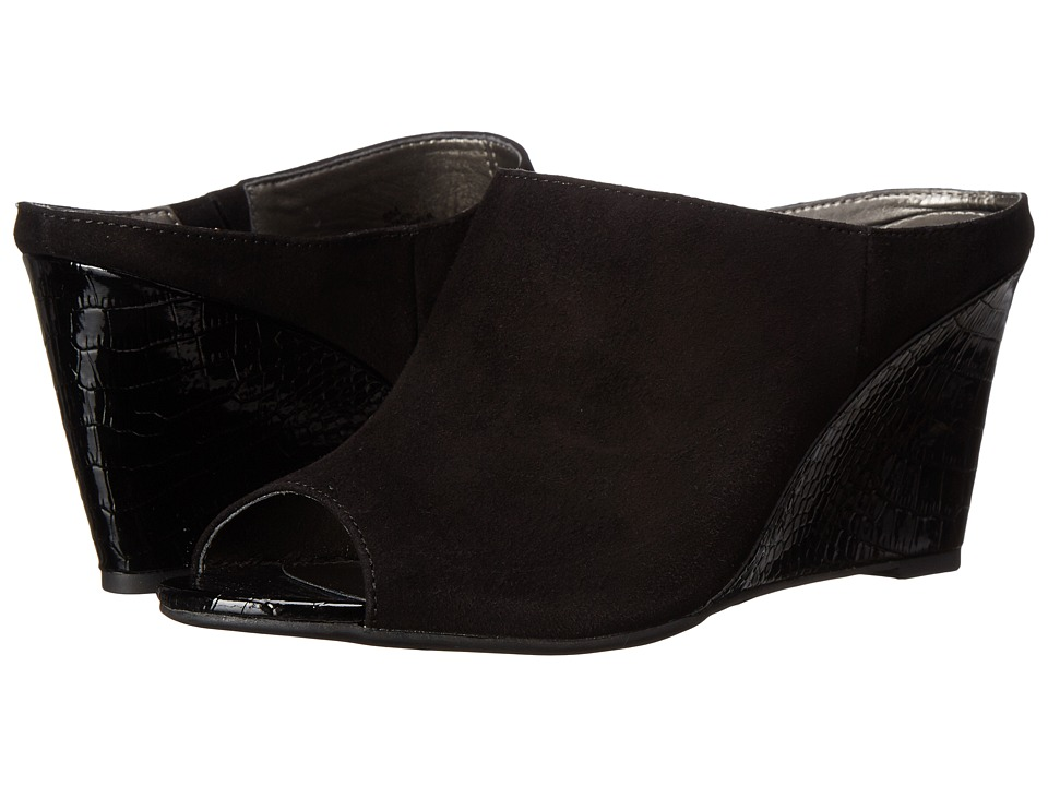 Bandolino - Tade (Black Suede) Women's Shoes