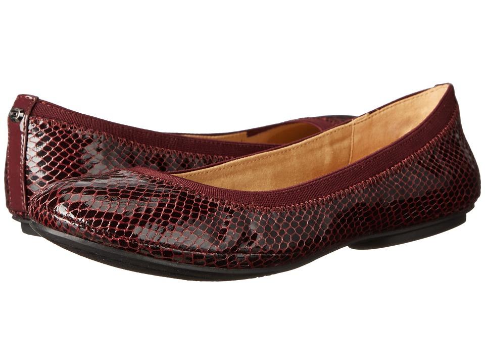 Bandolino - Edition (Wine Multi Synthetic) Women's Flat Shoes
