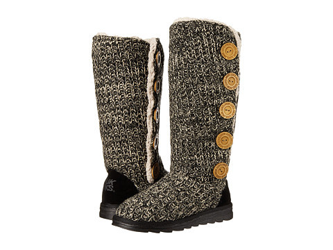 MUK LUKS - Malena (Soft Black) Women