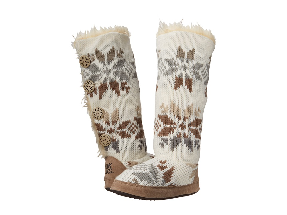MUK LUKS - Maleah (Winter White) Women's Boots