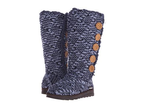 MUK LUKS - Malena (Navy 1) Women's Boots