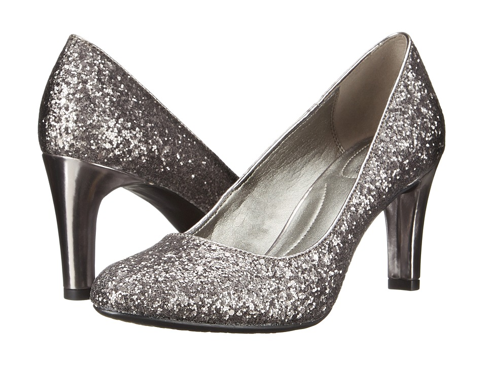 Bandolino Lantana (Dark Pewter Synthetic) High Heels