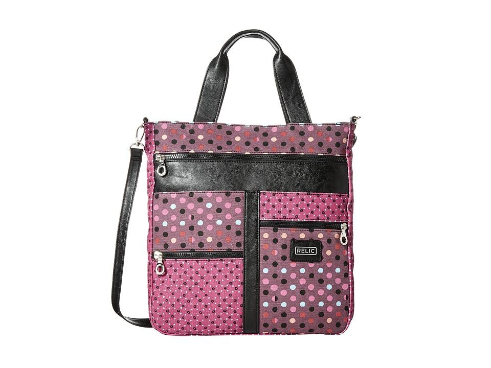 Relic - Takeaway Tote (Pink Multi) Tote Handbags