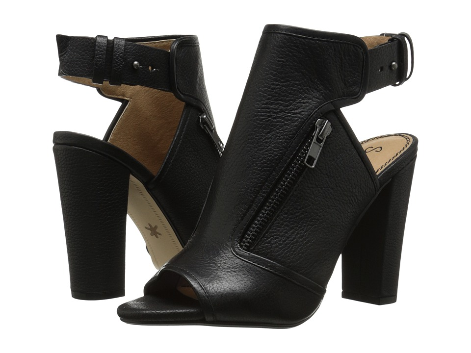 Splendid - Janet (Black Tumbled Leather) High Heels