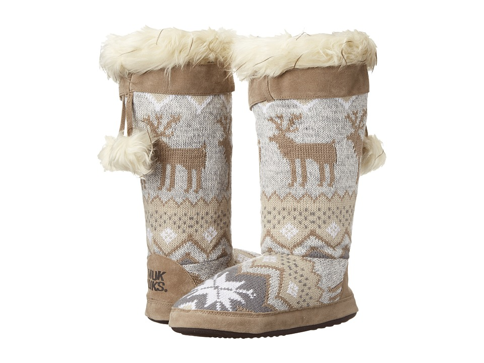 MUK LUKS - Winnie (Winter White) Women