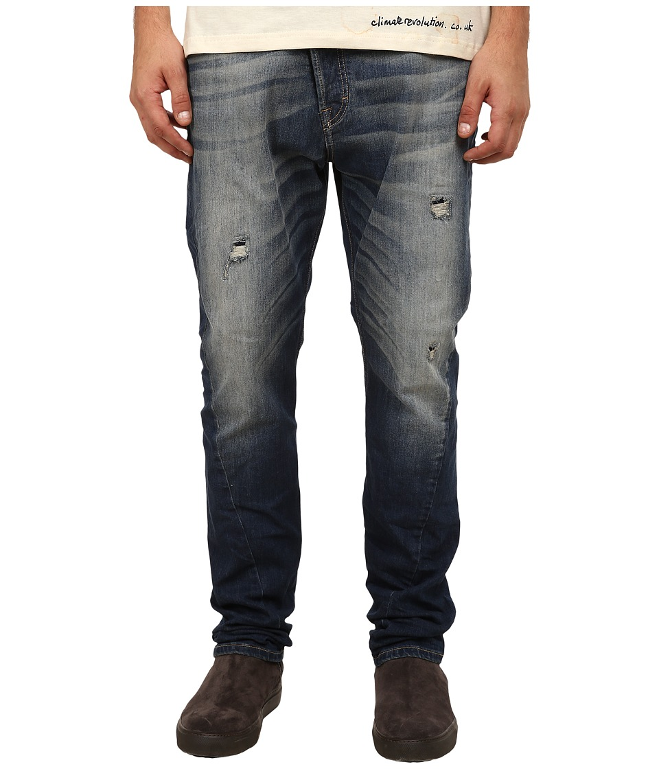 Vivienne Westwood - Anglomania Asymmetric Jeans in Blue Denim (Blue Denim) Men's Jeans