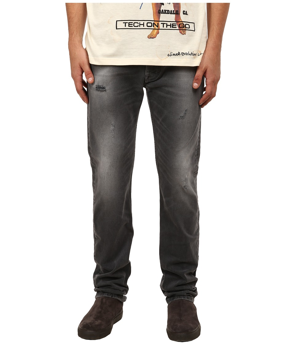 Vivienne Westwood MAN - Anglomania Low Crotch Jeans in Grey Denim (Grey Denim) Men's Jeans