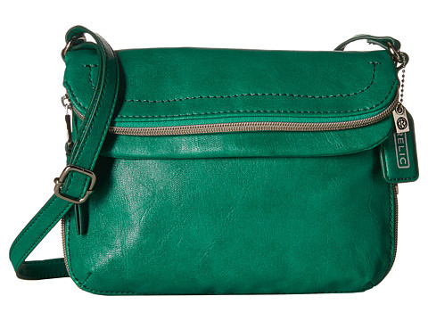 Relic - Cora East West Flap Crossbody (Emerald Green) Cross Body Handbags