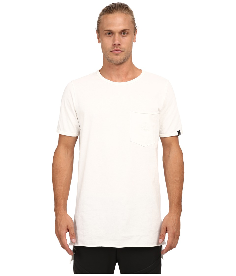 Vivienne Westwood MAN - Anglomania Tail T-Shirt (White) Men's T Shirt