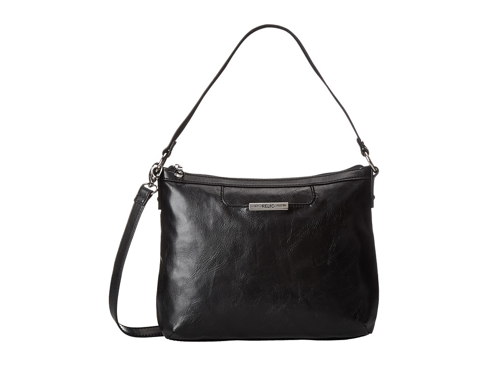 Relic - Caraway Convertible Top Zip (Black) Top-Zip Handbags