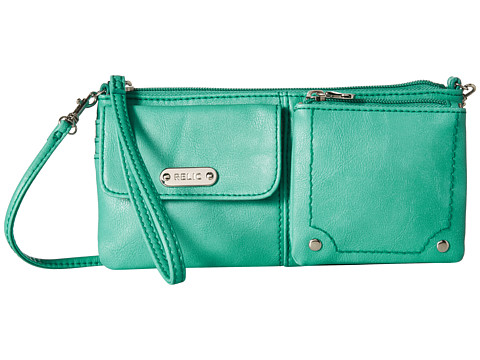 Relic - Evie East West Wristlet (Lagoon) Wristlet Handbags