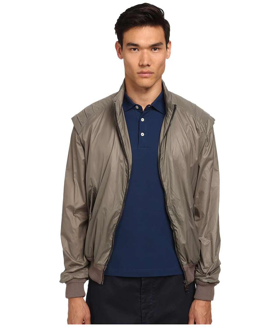 Vivienne Westwood - Wadded Nylon Armour Jacket (Khaki) Men's Coat