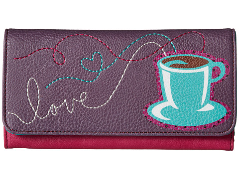 Relic - Takeaway Coffee Checkbook (Coffee) Checkbook Wallet