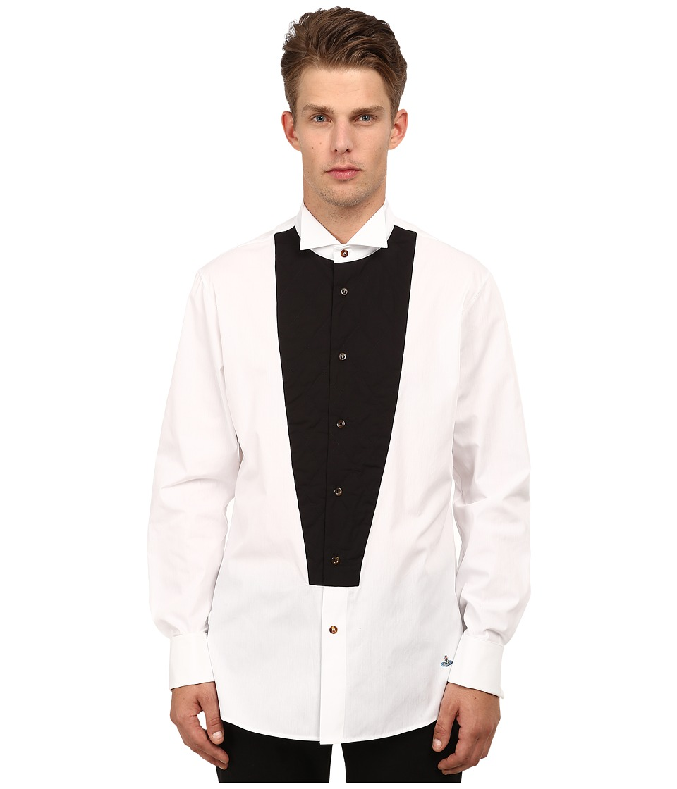Vivienne Westwood MAN - Evening Shirt (White) Men's Clothing