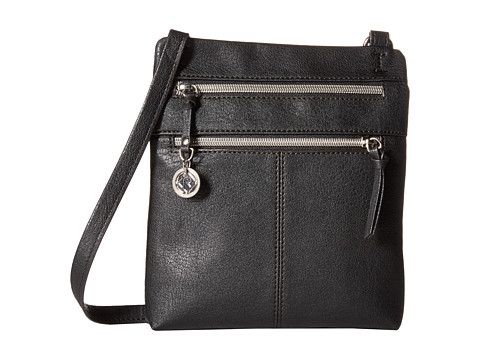 Relic - Finley North South Mini (Jet Black) Cross Body Handbags