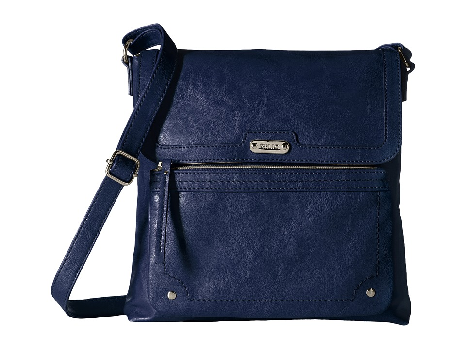 Relic - Evie Flap Crossbody (Deep Indigo) Cross Body Handbags