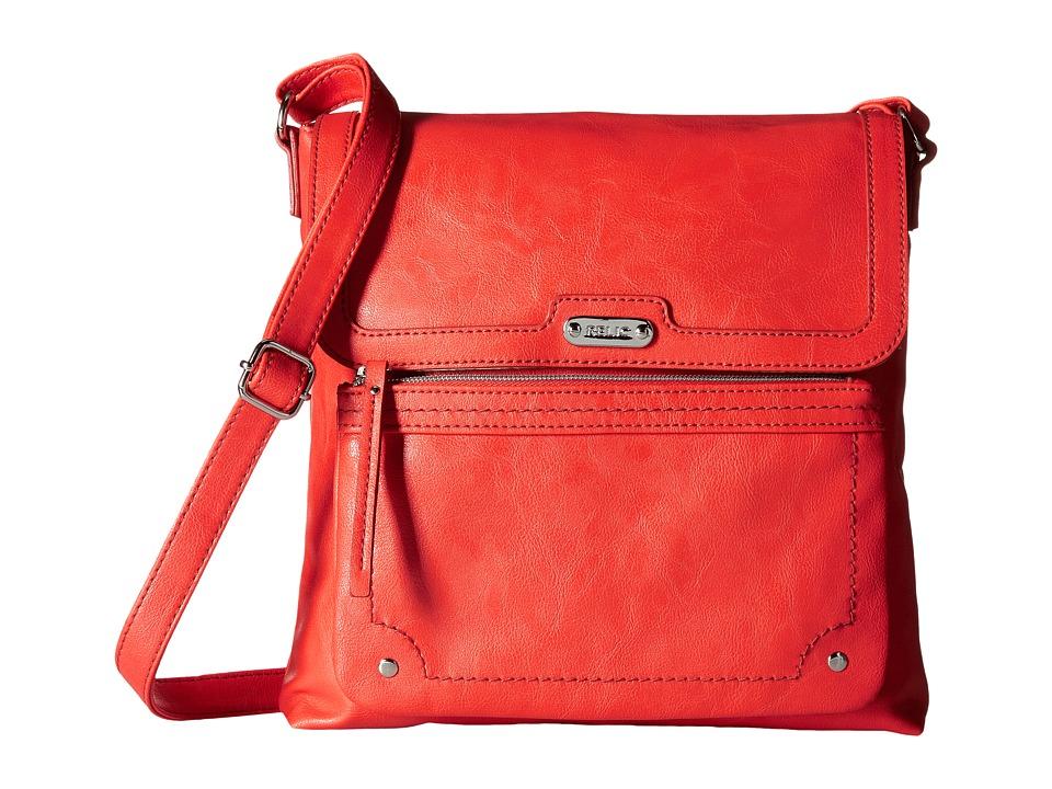 Relic - Evie Flap Crossbody (Pumpkin) Cross Body Handbags