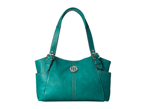 Relic - Bleeker Double Shoulder (Emerald Green) Shoulder Handbags