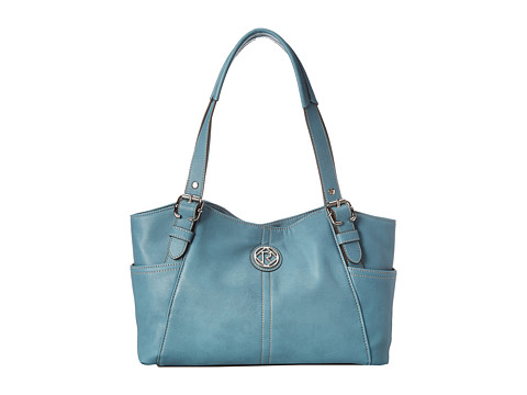 Relic - Bleeker Double Shoulder (Smokey Blue) Shoulder Handbags