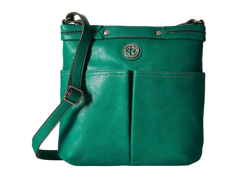 Relic - Bleeker Crossbody (Emerald Green) Cross Body Handbags