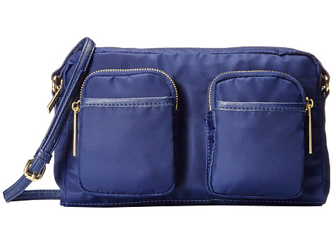 olivia + joy - Zip Zap Small Crossbody (Navy) Cross Body Handbags