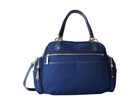 olivia + joy - Zap Zoom Satchel (Navy) Satchel Handbags