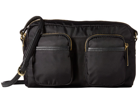 olivia + joy - Zip Zap Small Crossbody (Black) Cross Body Handbags