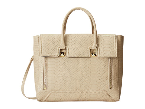 olivia + joy - Stephanie Satchel (Stone) Satchel Handbags