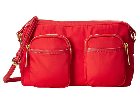 olivia + joy - Zip Zap Small Crossbody (Lipstick Red) Cross Body Handbags