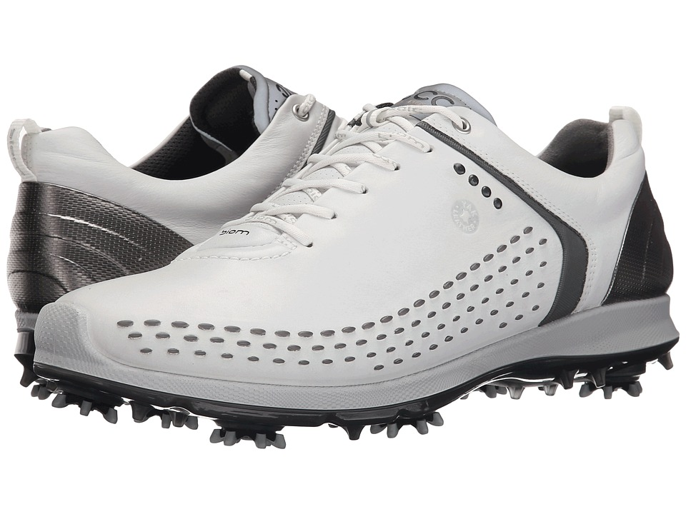 ECCO Golf BIOM G 2 (White/Dark Shadow) Men