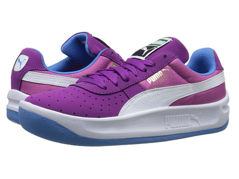 Puma Kids - GV Special Nubuck/Ripstop Jr (Little Kid/Big Kid) (Grape Juice/White/Meadow Mauve) Girls Shoes