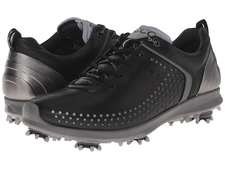 ECCO Golf - BIOM G 2 (Black/Steel) Women's Golf Shoes