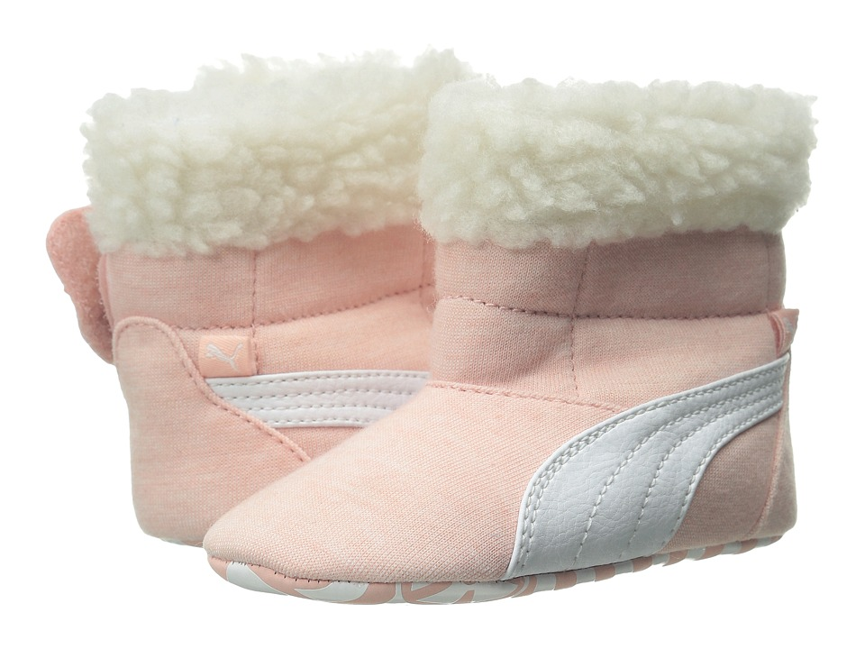 Puma Kids - Baby Boot Fur (Infant/Toddler) (Coral Cloud Pink/White) Girls Shoes