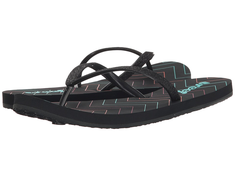 Reef - Stargazer Prints (Charcoal/Chevron) Women's Sandals