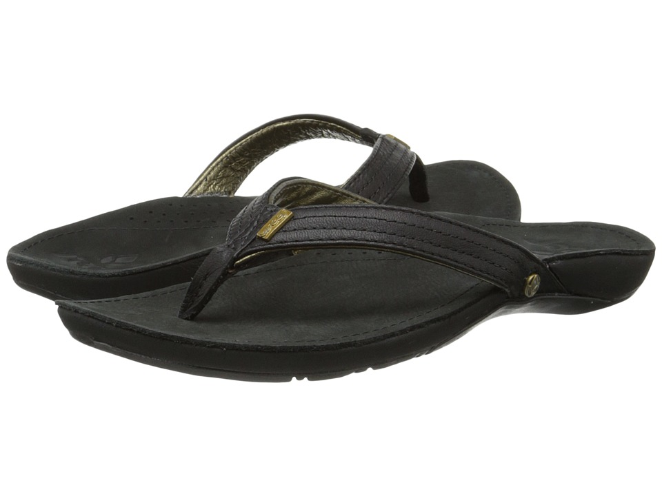 Reef - Miss J-Bay (Black/Gold) Women's Sandals