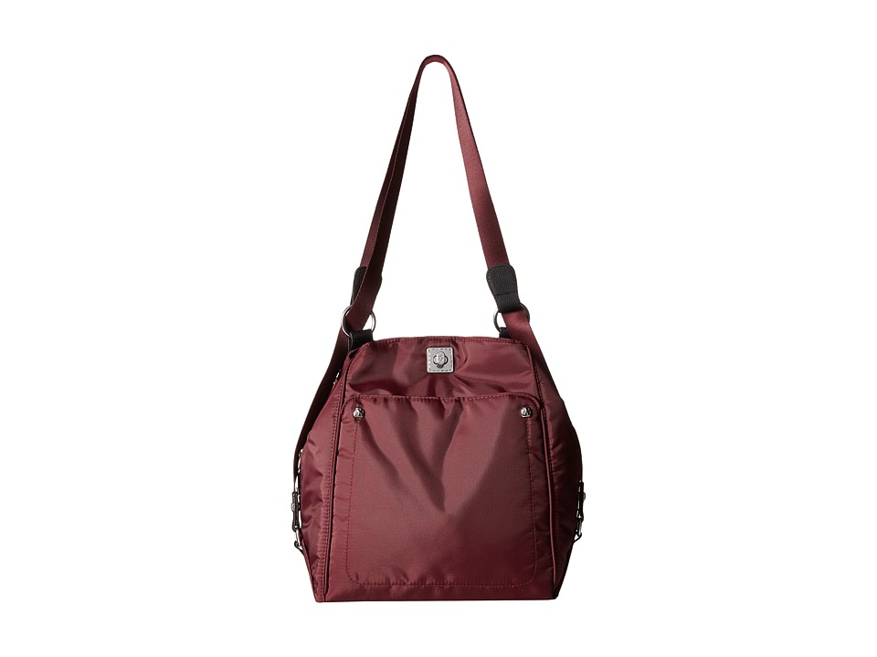 Baggallini - One Step (Plum) Handbags