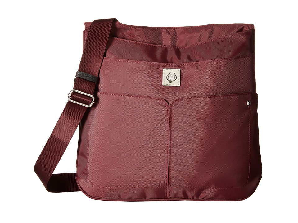 Baggallini - The Lift (Plum) Handbags