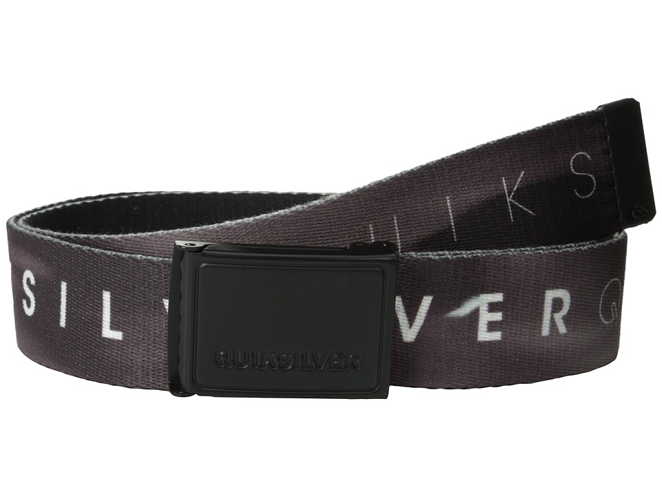 Quiksilver - The Badge Belt (Black) Men's Belts