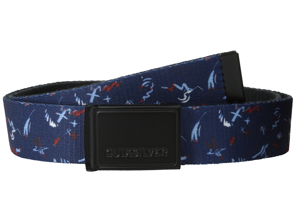 Quiksilver - The Badge Belt (Navy Blazer) Men's Belts